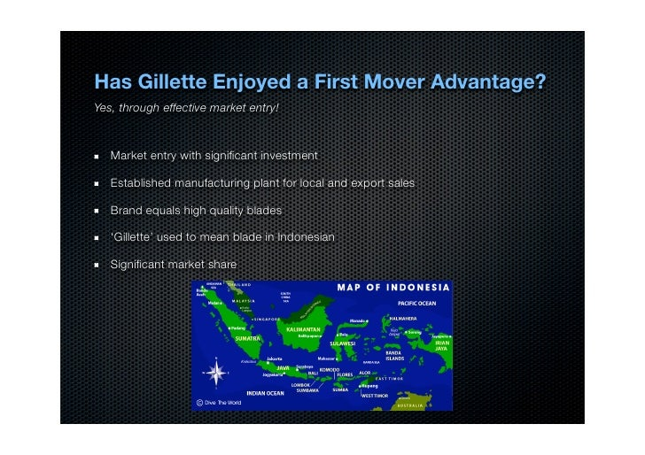 Developing the Marketing Plan Case: Gillette Indonesia