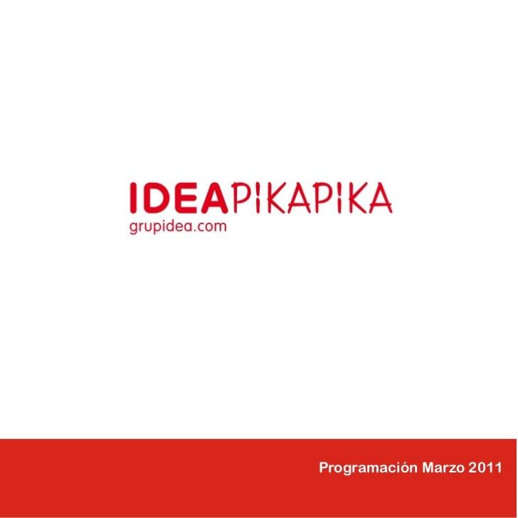 Programación Marzo 2011