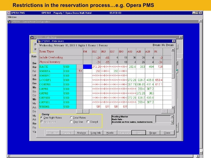 opera pms Otello corporation asa was formerly known as opera software asa and has over 20 years of history otello's journey started in 1995 when opera was established as a.