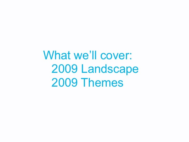 2009 Themes // Ideas Are Awesome Slide 2
