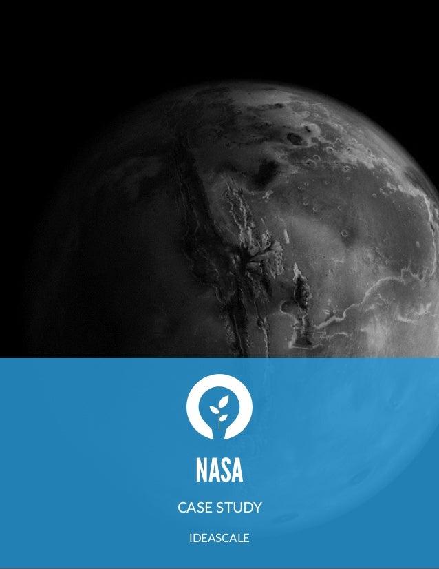NASA CASE STUDY  IDEASCALE
