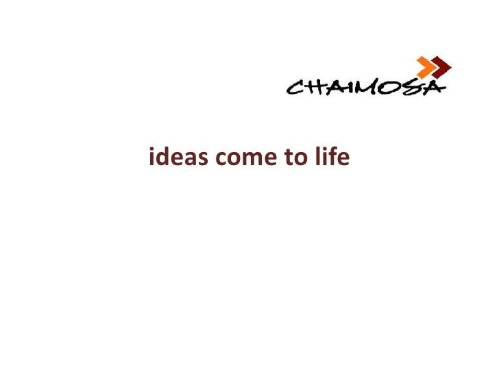 ideas come to life<br />