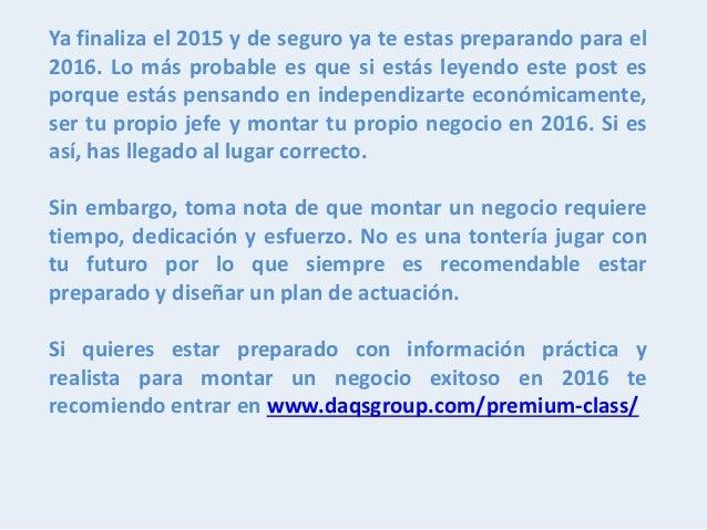 Ideas De Negocios Rentables Y De Poca Inversion Para El 2016