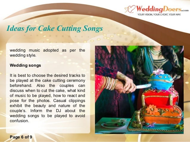songs to cut the wedding cake to ideas for cake cutting songs 20284