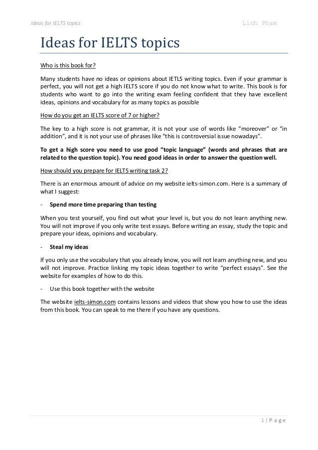 IELTS Speaking Part 2 Topics Sept to Dec 2017