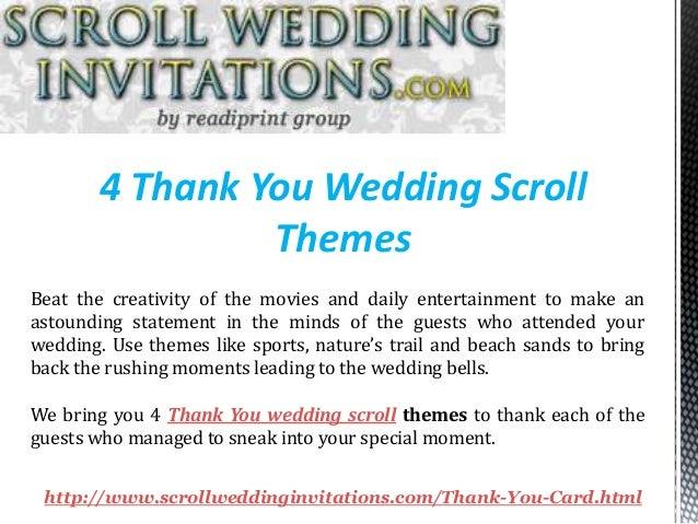 thank you scrolls