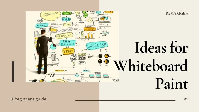 ReMARKable Ideas for Whiteboard Paint 01A beginner's guide
