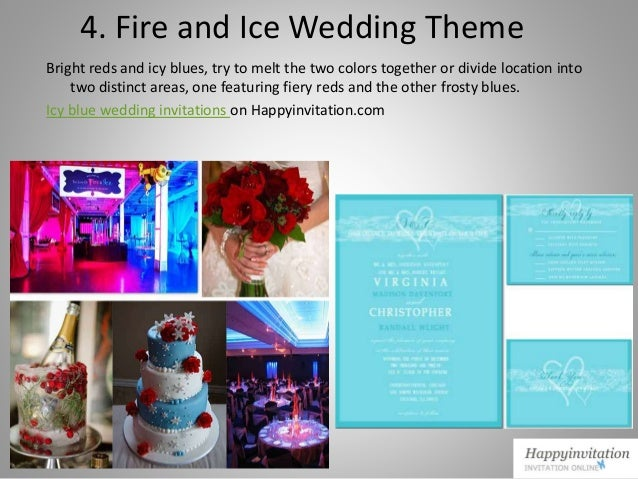 Ideas of winter wedding themes collection from Happyinvitation