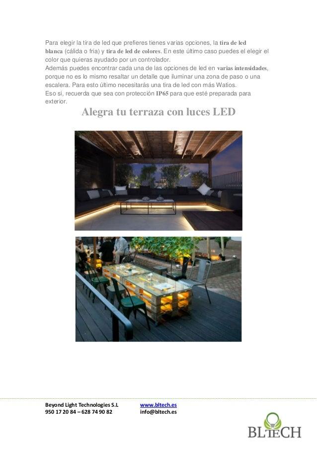 Ideas para decorar tu terraza con led por poco dinero for Ideas para decorar una terraza con poco dinero