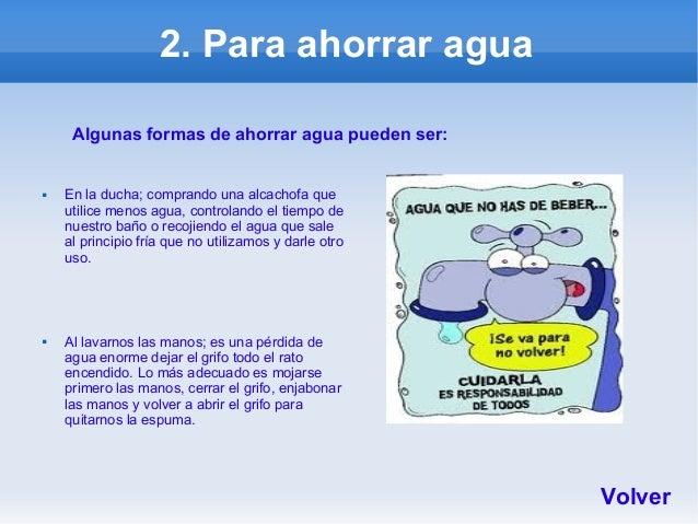 Ideas para reducir consumo - Formas para ahorrar agua ...