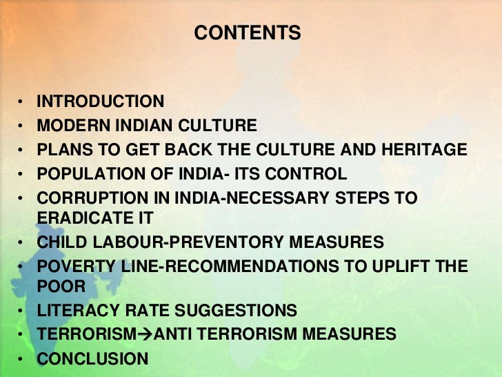 steps to control terrorism in india The issue of islamic terrorism has once again become india's  similar methods  to attract indian youth into its own fold through allurements and.