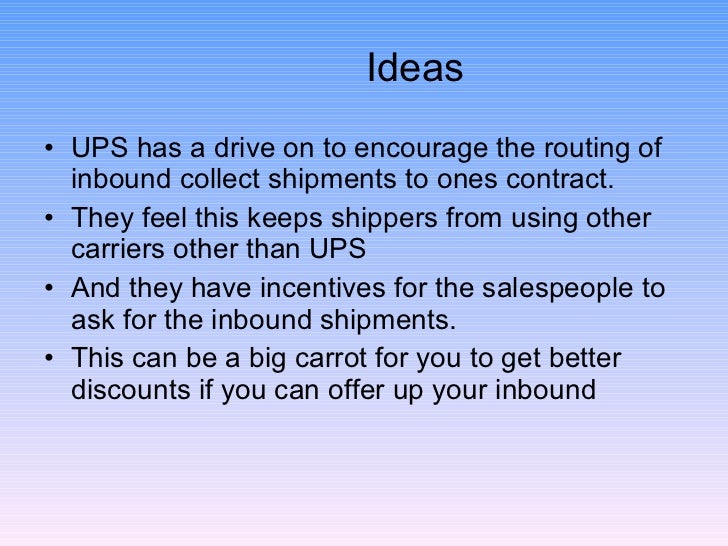 Ideas To Reduce Parcel Shipping Costs