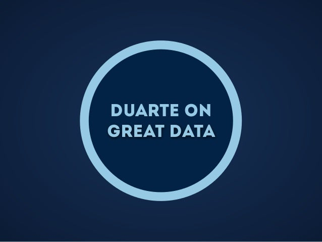 Duarte on great data