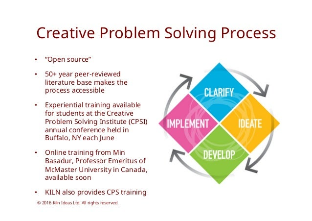 cpsi creative problem solving institute