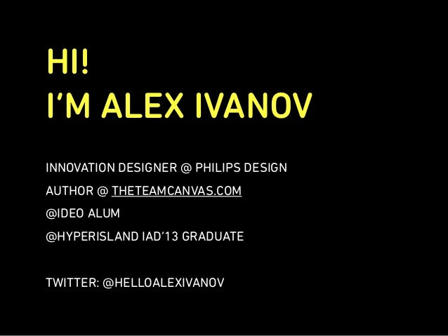 Ideation Session @ Hyper Island Slide 2
