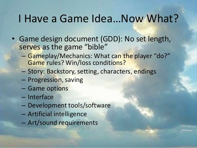 How To Make A Video Game Even With No Programming Experience - How to make a gdd