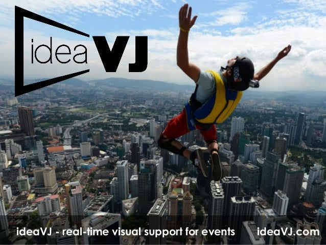 ideaVJ.comideaVJ - real-time visual support for events