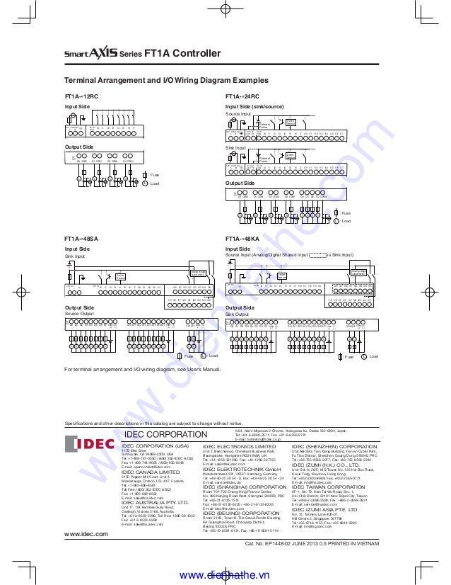 Set reset idec relay wiring diagram free download
