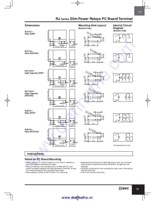 Rh2b U Relay Wiring Diagram | Wiring Diagram Idec Rh B Base Wiring Diagram on