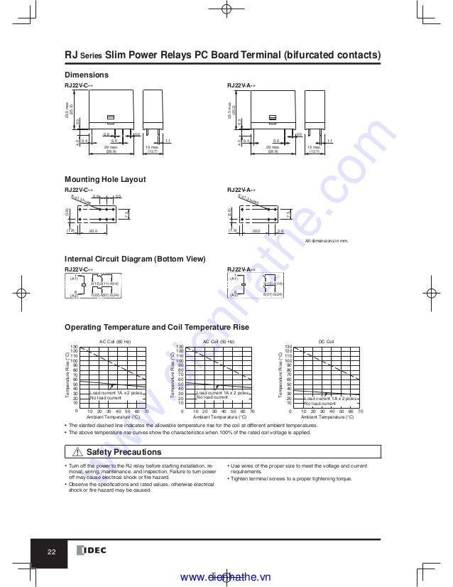 Idec ry4s relay wiring diagram diy wiring diagrams idec catalog relays amp sockets idec rh slideshare net dpdt relay wiring diagram industrial motor control wiring diagram cheapraybanclubmaster Choice Image