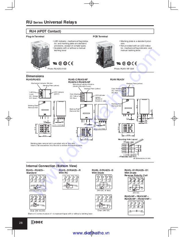 idec relay socket wiring diagram simple wiring schema rh 6 aspire atlantis de Dpdt Relay Wiring Diagram Ice Cube Relay Wiring Diagram