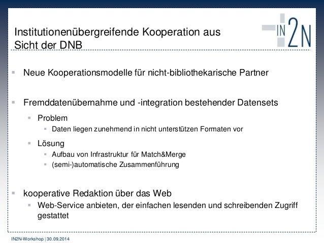 IN2N – Idee, Produkte und Kooperationsmodelle Slide 2