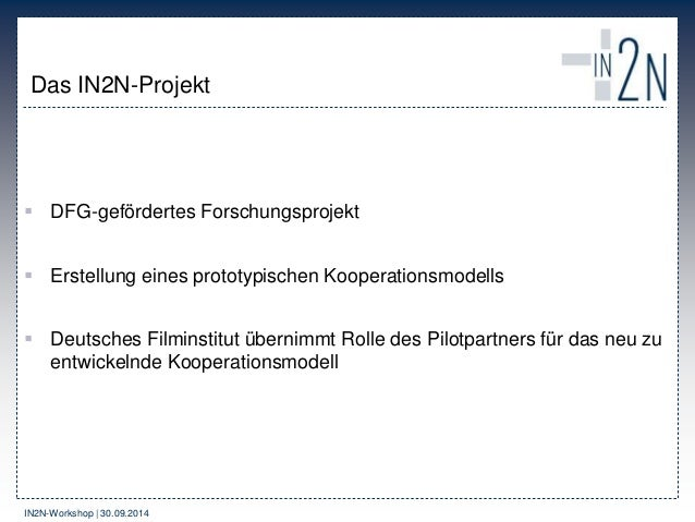 IN2N – Idee, Produkte und Kooperationsmodelle Slide 3