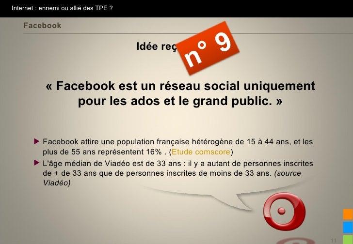 Internet : ennemi ou allié des TPE ?    Facebook                                       Idée reçue                         ...