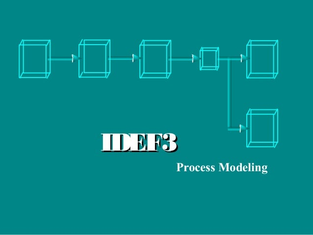 IDEF3IDEF3 Process Modeling