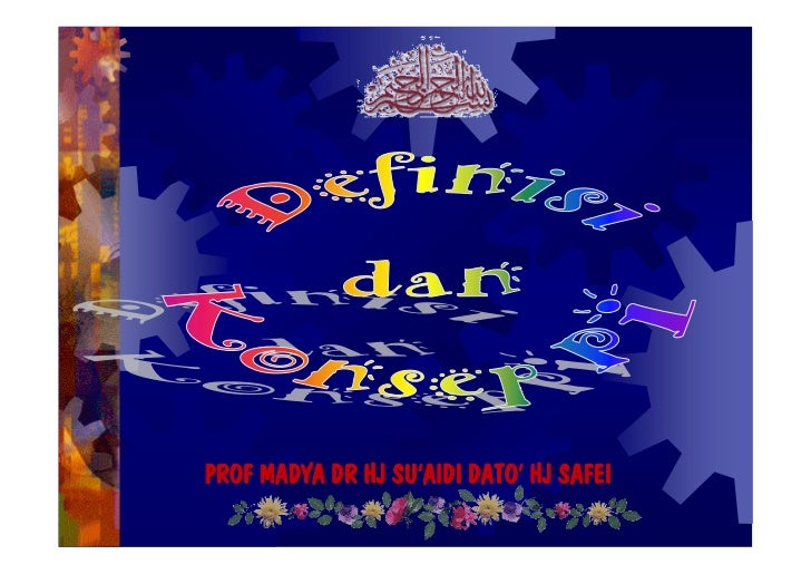 PROF MADYA DR HJ SU'AIDI DATO' HJ SAFEI