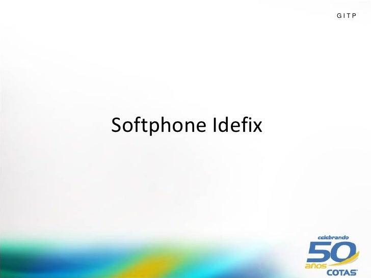 GITPSoftphone Idefix