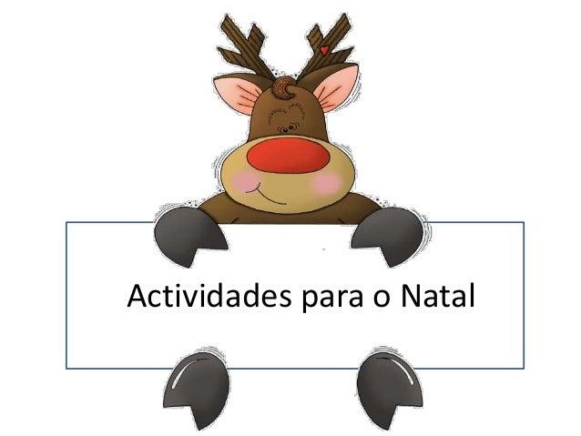 Actividades para o Natal