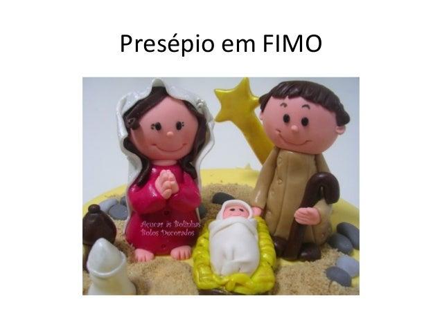 Presépio em FIMO