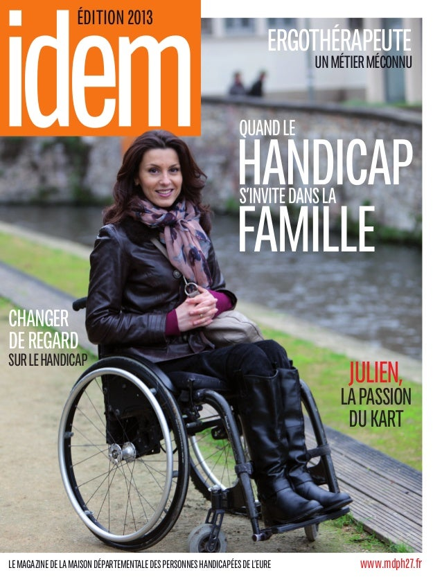 www.mdph27.frLemagazinedelamaisondépartementaledespersonneshandicapéesdel'eure Ergothérapeute unmétierméconnu Julien, lap...