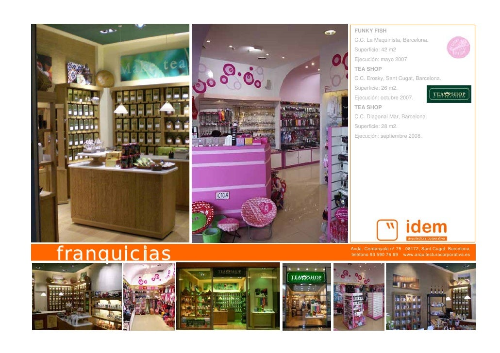 Idem arquitectura corporativa portfolio - Franquicia tea shop ...