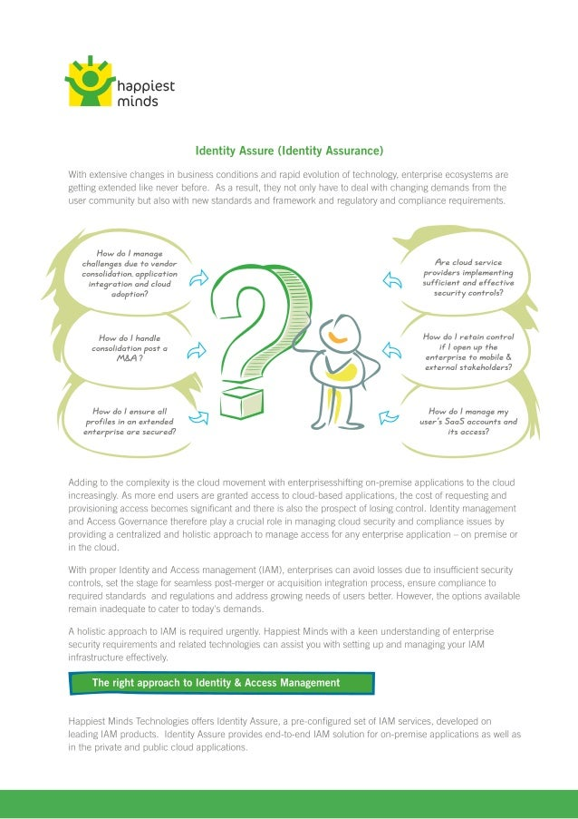Idendity assure artwork for print