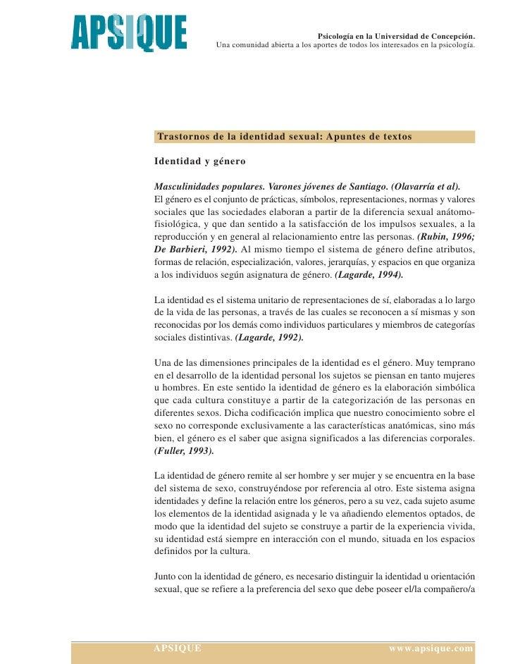 Psicología en la Universidad de Concepción.                 Una comunidad abierta a los aportes de todos los interesados e...