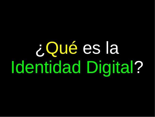 Identidad digital-4 eso-2014 Slide 2