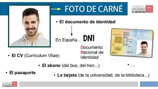 Presentación información personal - ProfeDeELE.es Slide 3
