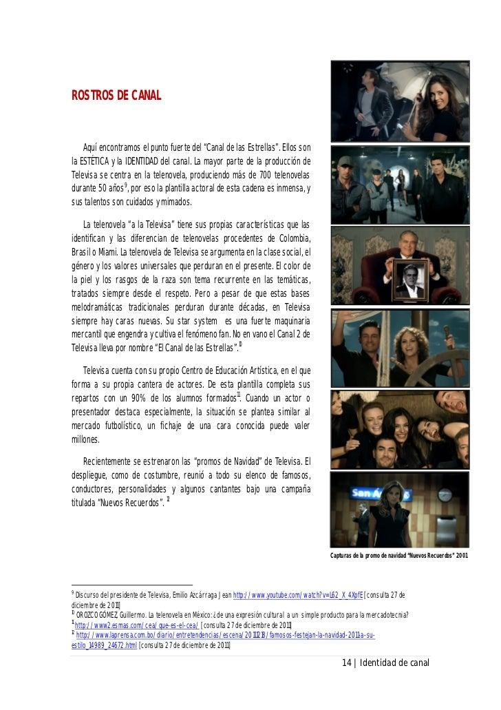 Identidad De Canal El Canal De Las Estrellas 2011