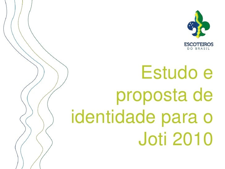 Estudo e proposta de identidadepara o Joti 2010 <br />