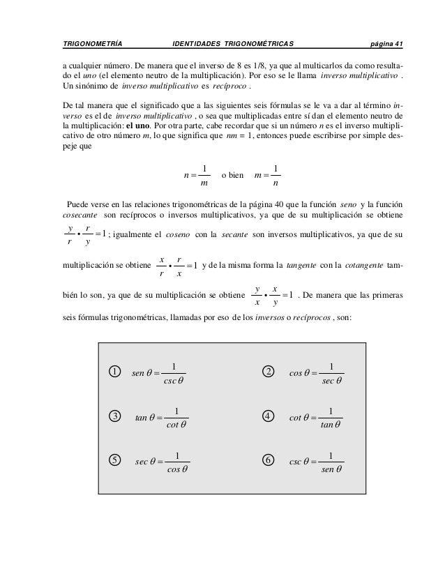 Identidades trigonometricas Slide 3