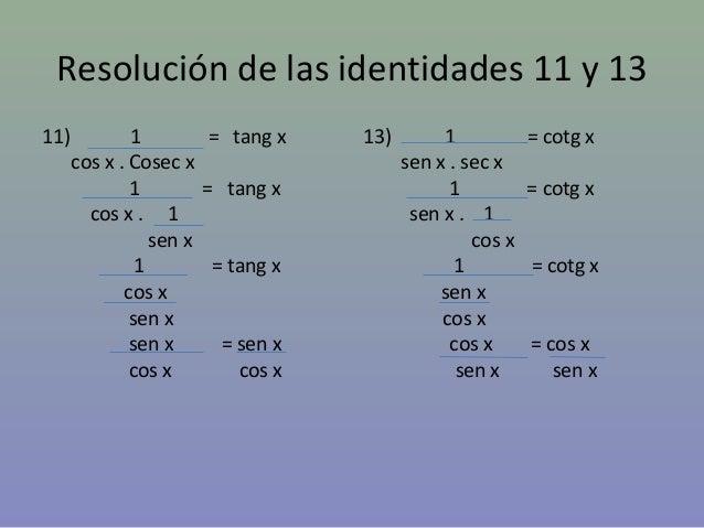 Identidades trigonométricas Slide 2