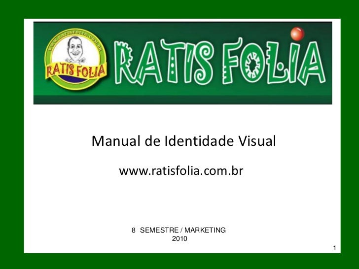 Identidade visual RATIS FOLIA
