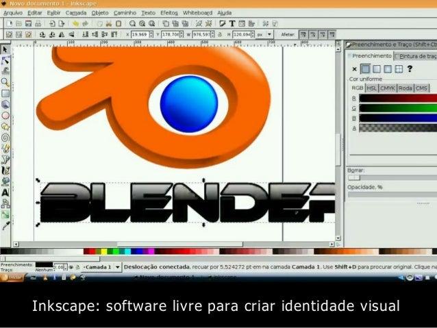 Inkscape: software livre para criar identidade visual