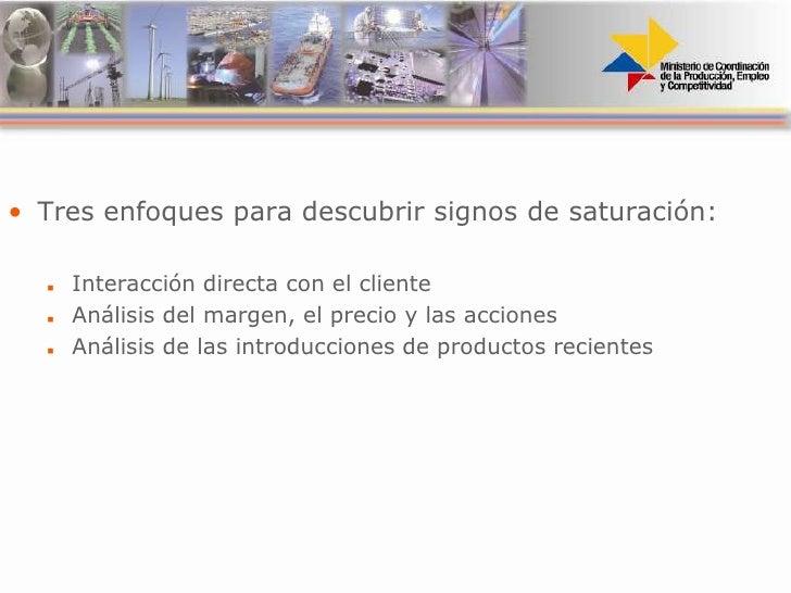 Identificación de clientes saturados (guía del innovador)