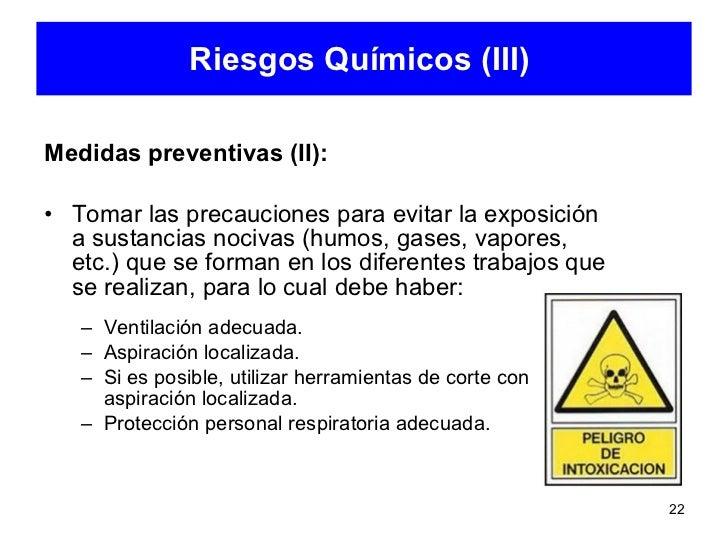 Identificacin de riesgos y medidas de prevencin