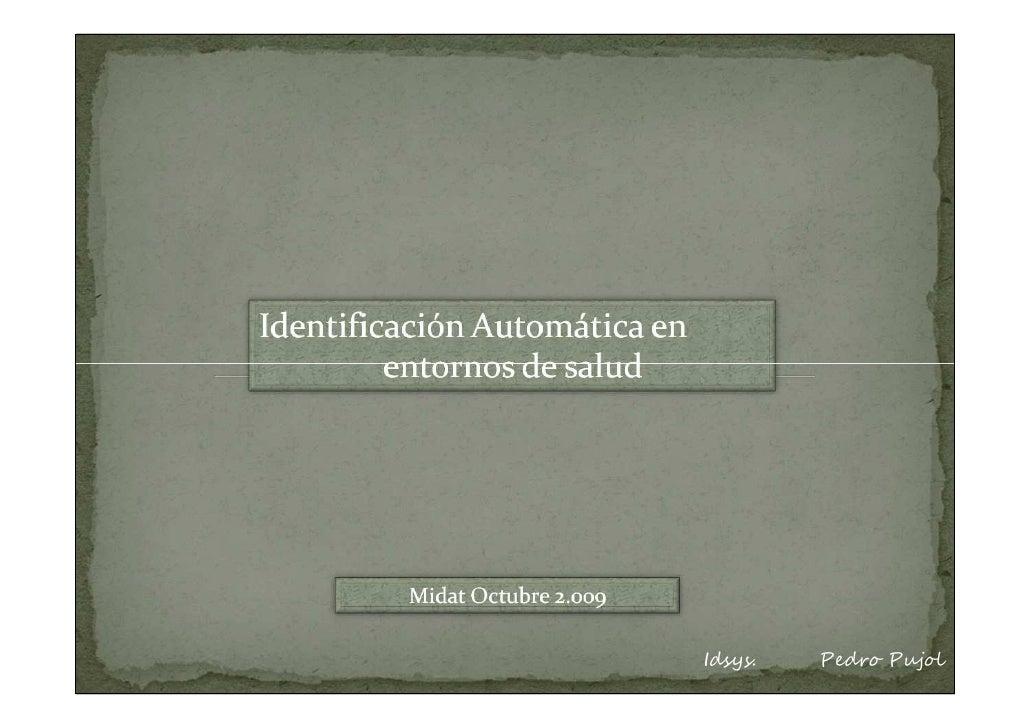 1          www.idsys.es    Idsys.   Pedro Pujol     pedro.pujol@idsys.es