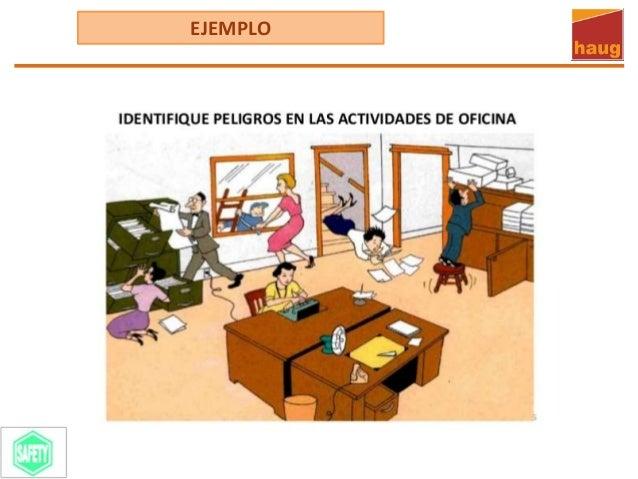 Identificacion de peligros y evaluacion de riesgos en for Riesgos laborales en oficinas