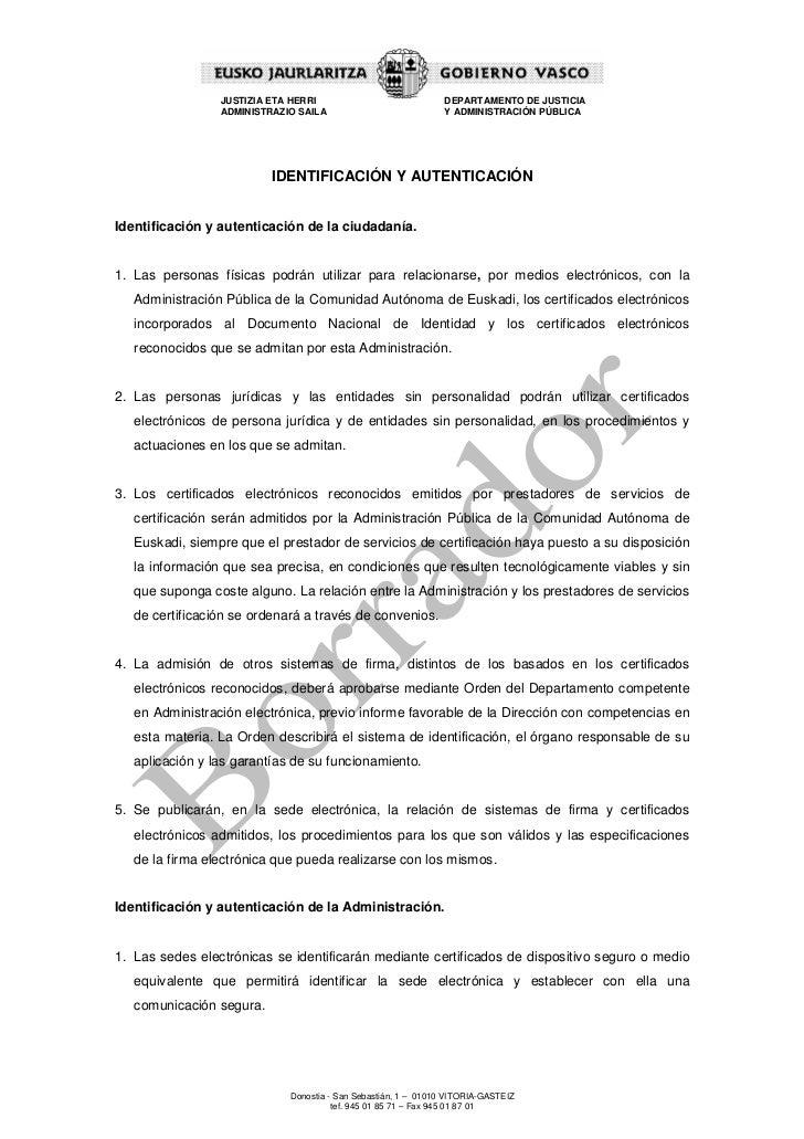 JUSTIZIA ETA HERRI                             DEPARTAMENTO DE JUSTICIA                 ADMINISTRAZIO SAILA               ...